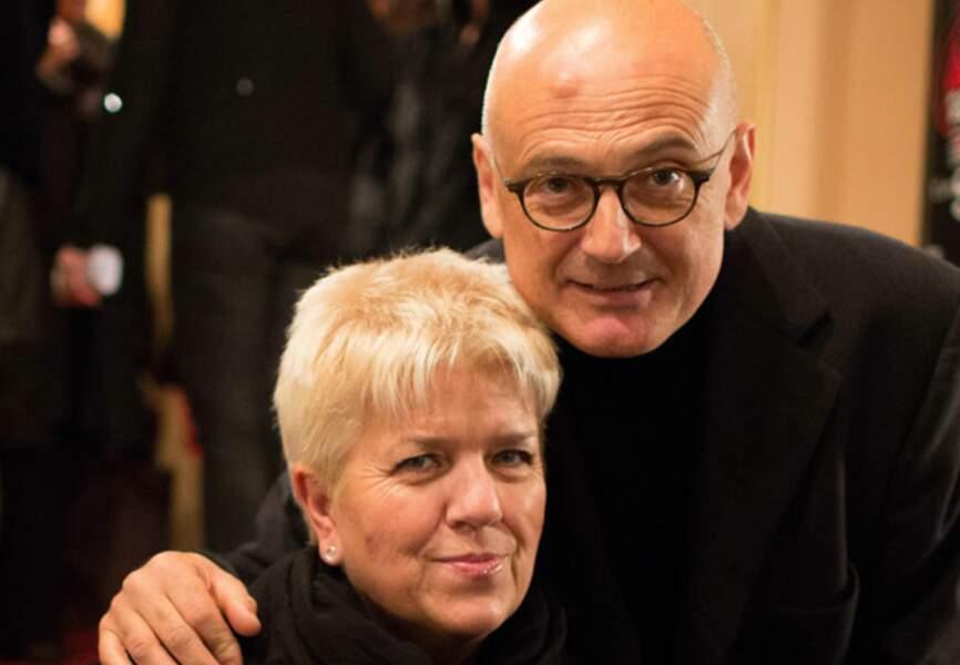 Mimie Mathy et son mari Benoît