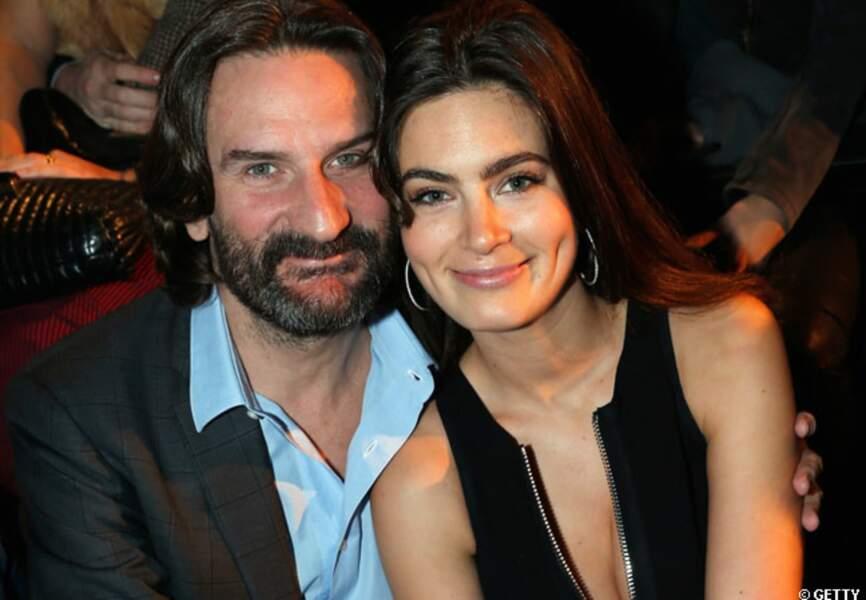 Frédéric Beigbeder et Lara à la soirée Etam