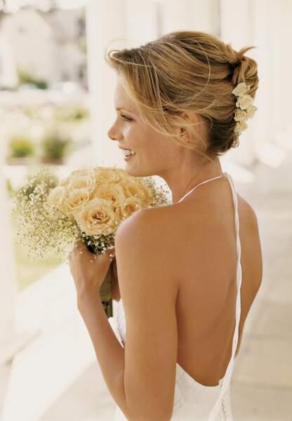 Idée de chignon pour le mariage