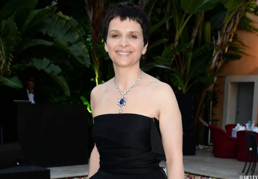 L'actrice Juliette Binoche