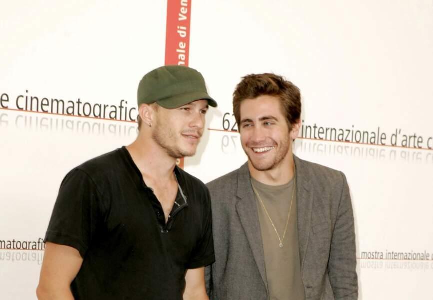 Jake Gyllenhaal parrain de Matilda Ledger