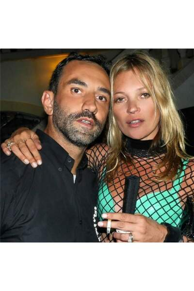 Riccardo Tisci et Kate Moss à l'anniversaire du créateur à Ibiza. Une nuit folle