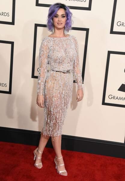 Katy Perry radieuse en Zuhair Murad Couture