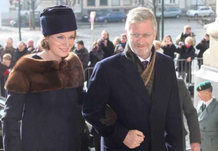 Février 2012, un couple toujours uni