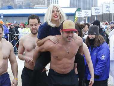 Lady Gaga et Taylor Kinney au polar pluge de Chicago