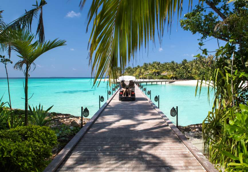 Le Cheval Blanc Randheli, le spot de Kevin Spacey, Paris Hilton, Tony Blair et Michael Phelps aux Maldives