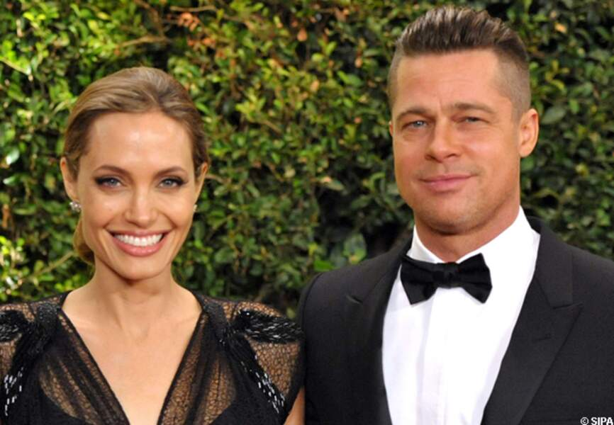 Brad Pitt et Angelina Jolie au Governors Awards en 2013