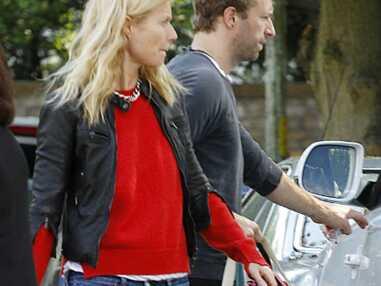 Gwyneth Paltrow en ballade avec Chris Martin