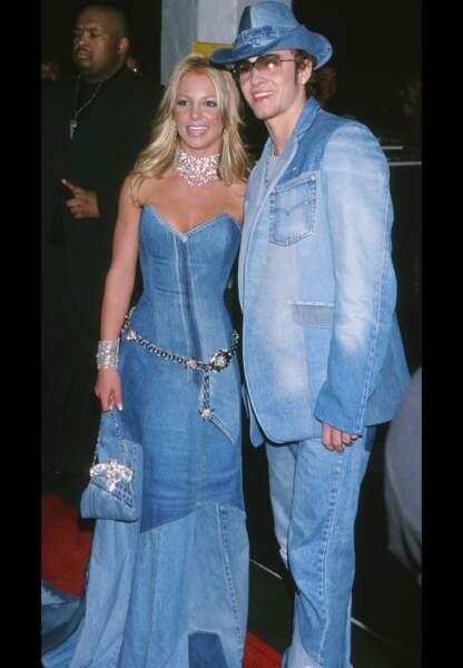 A l'instar de Britney Spears et Justin Timberlake en 2001
