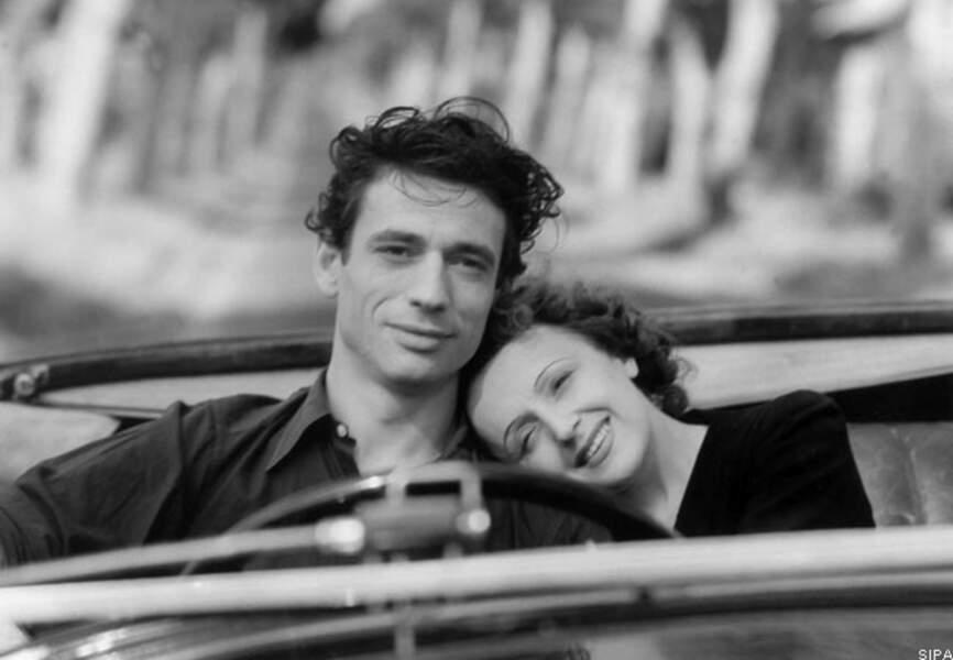 Edith Piaf et Yves Montand dans Etoile sans lumière