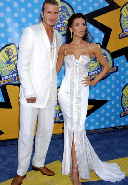 Le glamour selon les Beckham en 2003