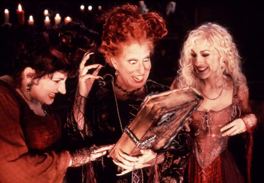 Belle en sorcière dans Hocus Pocus