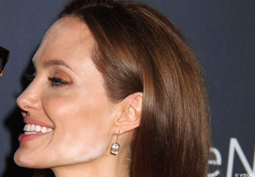 Angelina Jolie, curieuse tache
