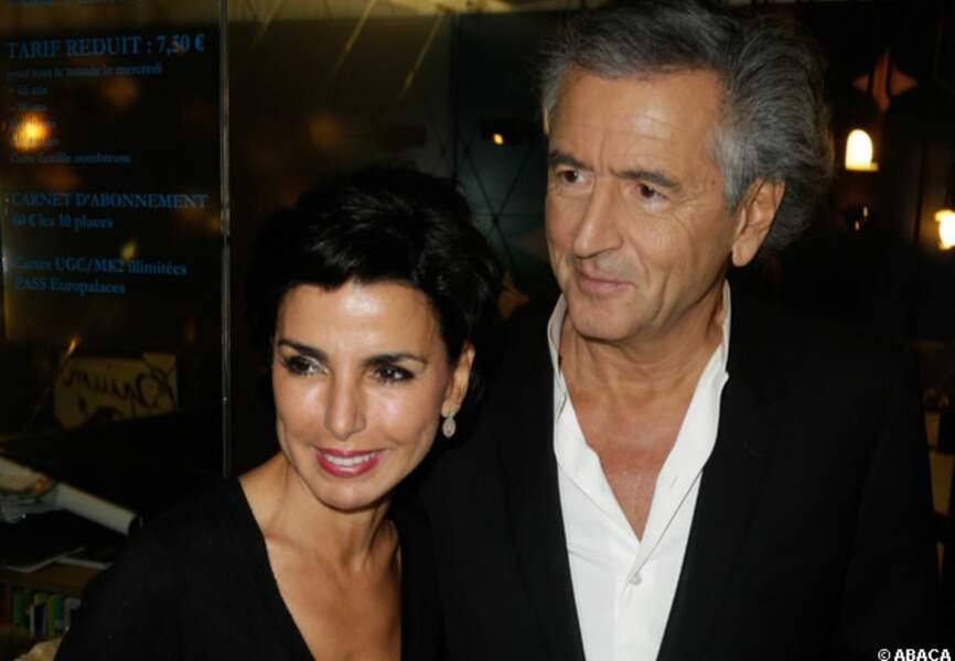 Rachida Dati et Bernard Henri Lévy