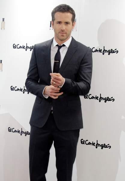 Ryan Reynolds en Espagne, 2013.