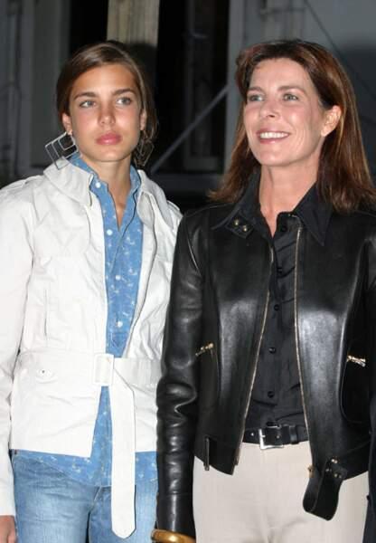 Looks décontractés pour mères et filles en septembre 2003