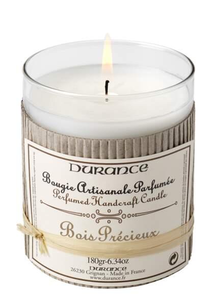 Durance – Bougie Bois Précieux – 14,90€
