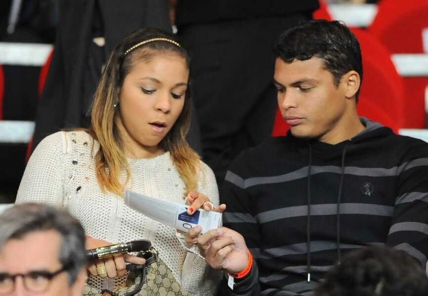 Thiago Silva (PSG) et sa compagne