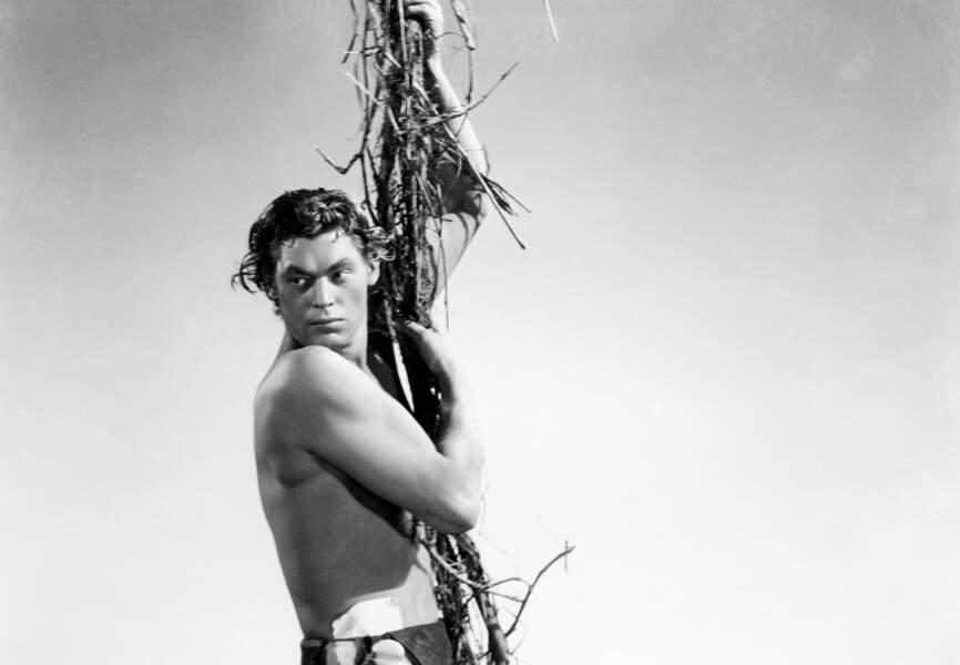 Johnny Weissmuller, natation