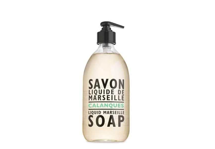 Compagnie de Provence, Savon liquide de Marseille Calanques, 14,55€