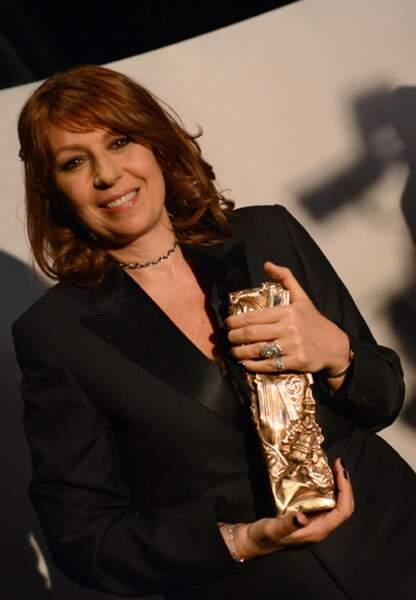 Récompésée du César du meilleure rôle féminin