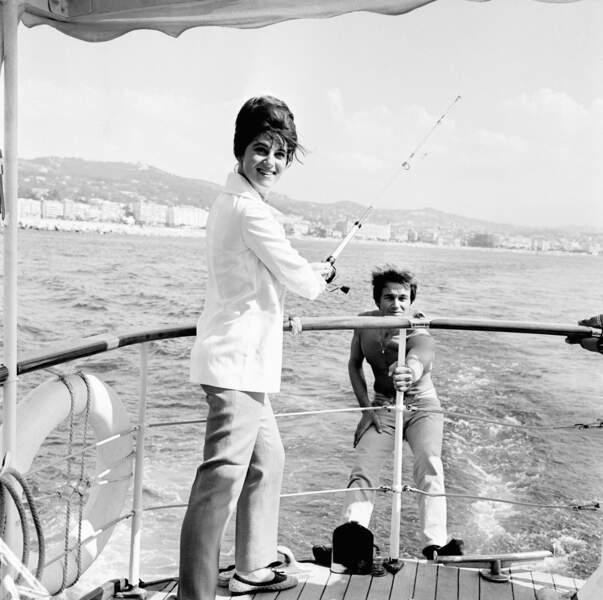 Sheila En Vacances Sur La Cote D'Azur