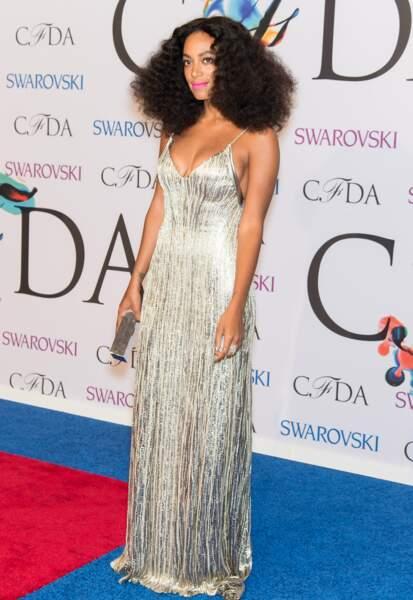 Solange Knowles en Calvin Klein