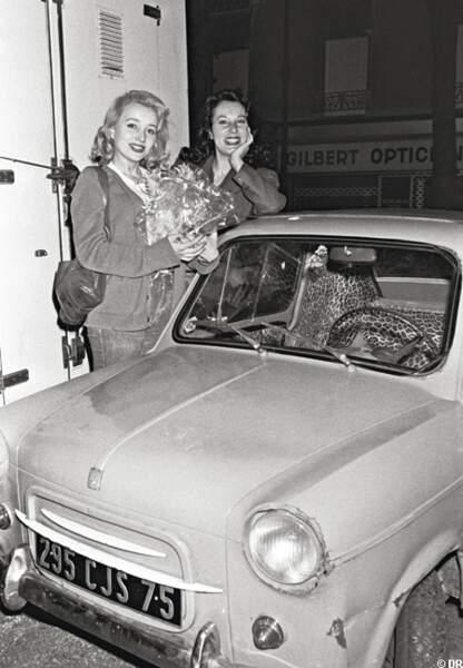 Bernadette Lafont et sa fille Pauline