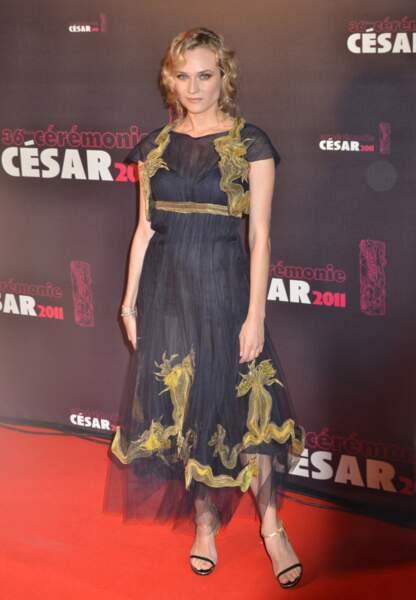 Diane Kruger en Chanel aux César 2011