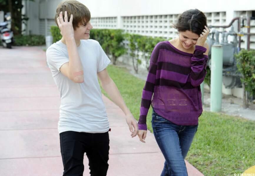 Et Selena est entrée dans sa vie