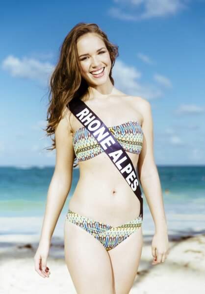 Aurore Thibaud, Miss Rhône Alpes