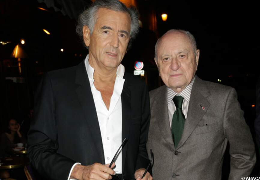 BHL et Pierre Bergé