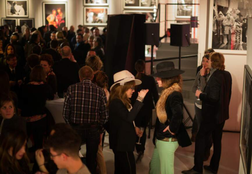Chaude ambiance à la Galerie Nikki Diana Marquardt
