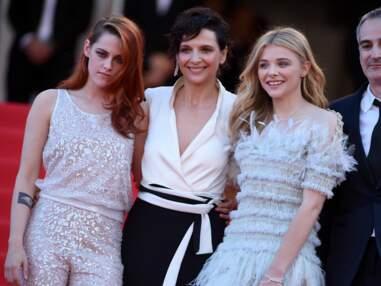 Cannes 2014: Uma Thurman, Kristen Stewart, la montée des marches de Sils Maria