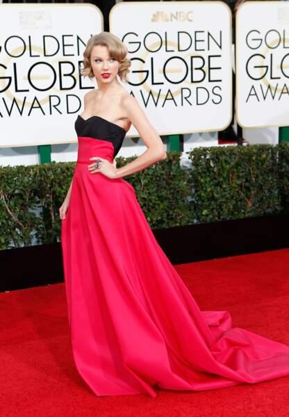 La chanteuse aux Golden Globes 2014