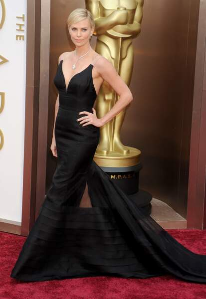 Charlize Theron en Dior
