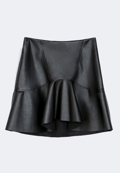 Zara – Faux leather skirt – 29,95€