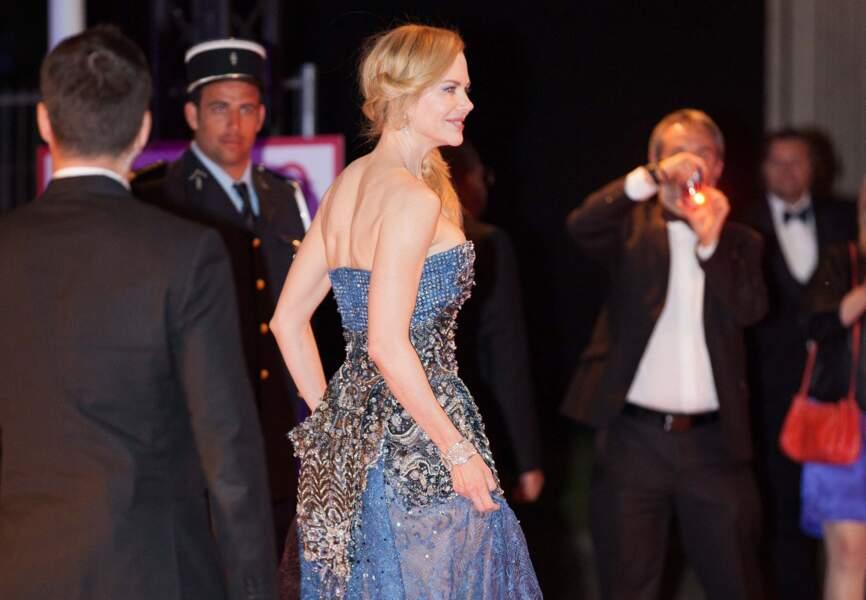 Nicole Kidman lors de l'after party du film Grace de Monaco