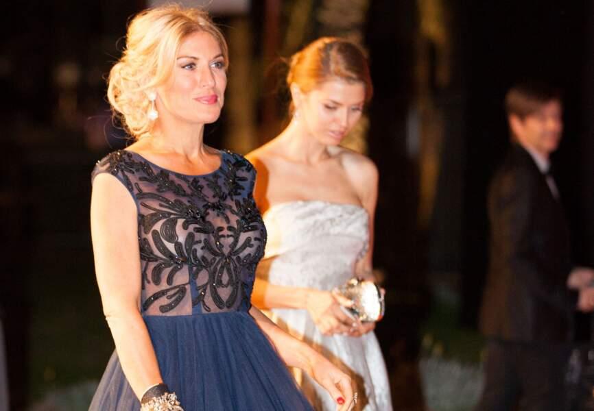 Victoria Bona et Hofit Golan lors de l'after party du film Grace de Monaco
