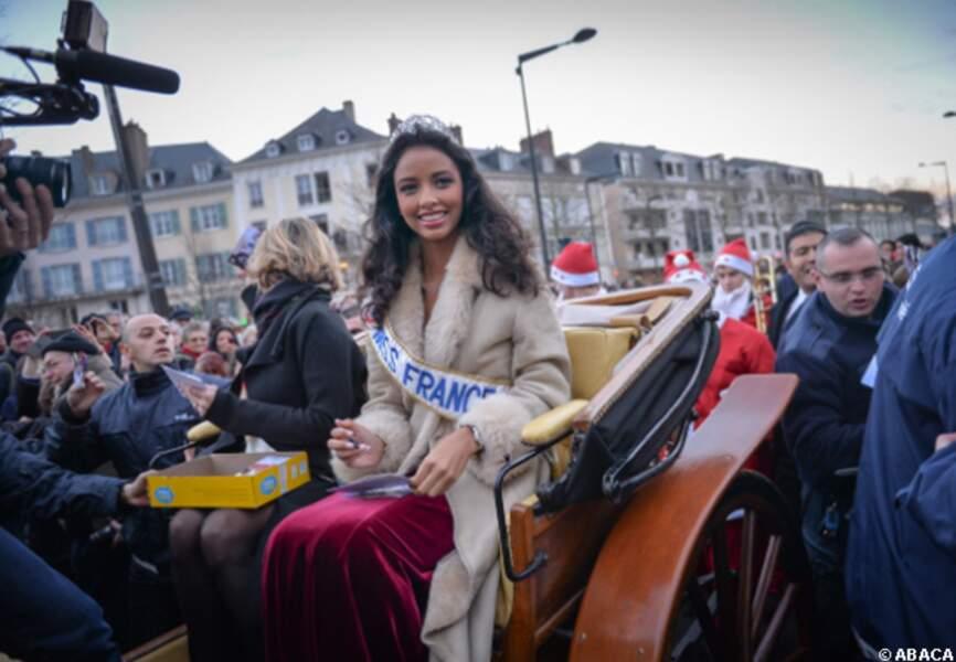 Miss France est arrivée à Chartres en calèche
