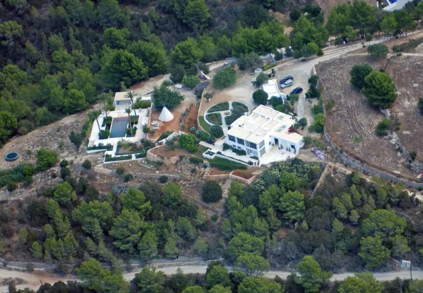 L'immense villa de Jade Jagger à Ibiza