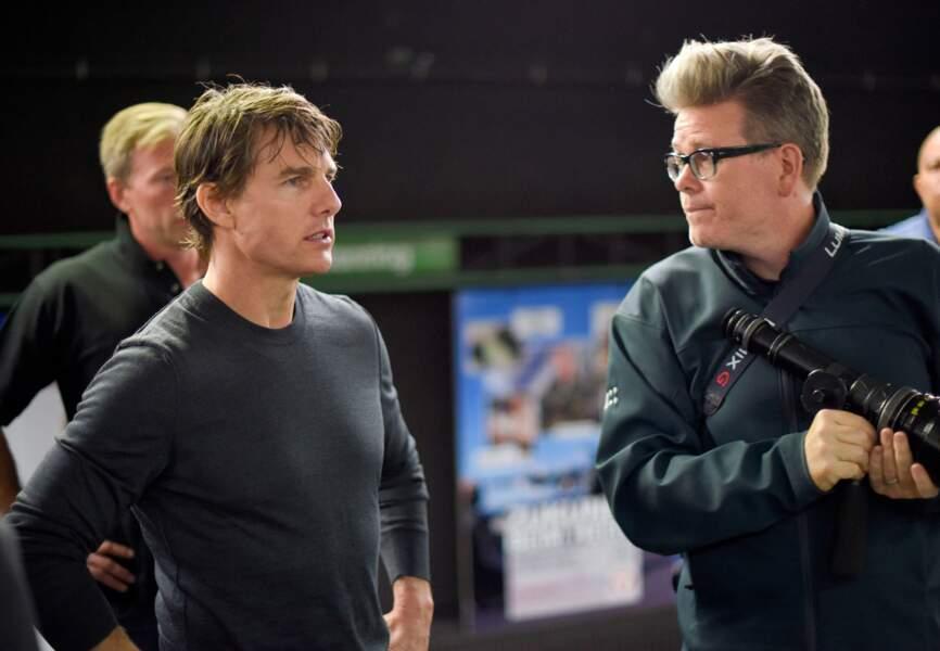 Tom Cruise et Christopher McQuarrie sur le tournage de MI5