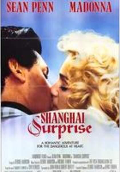 """Trois ans plus tard, il est aux côtés de Madonna dans """"Shanghai Surprise"""""""