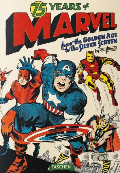 Taschen revisite les superhéros dans 75 ans de Marvel
