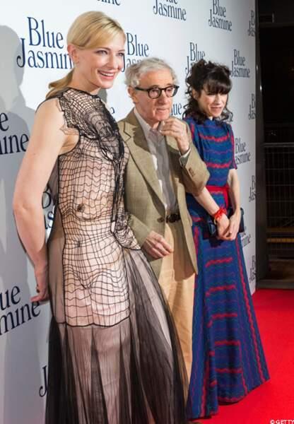 Cate Blanchett, Woody Allen et Sally Hawkins