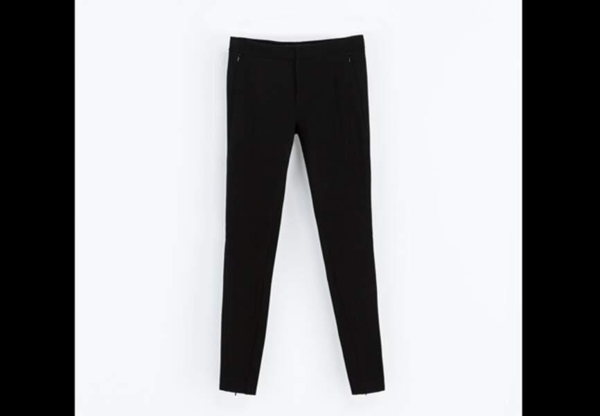 Zara – Pantalon style legging – 49,95€