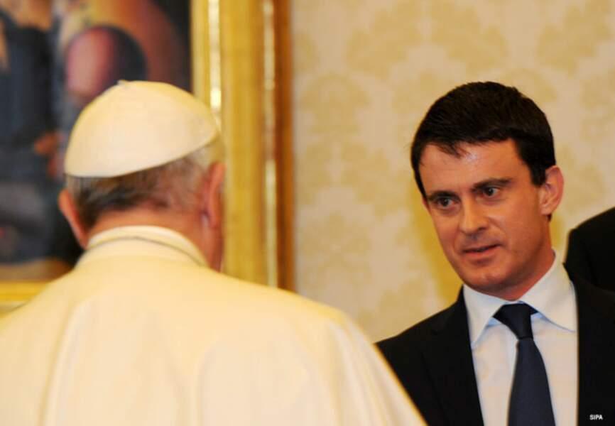 Manuel Valls était visiblement heureux de cette rencontre