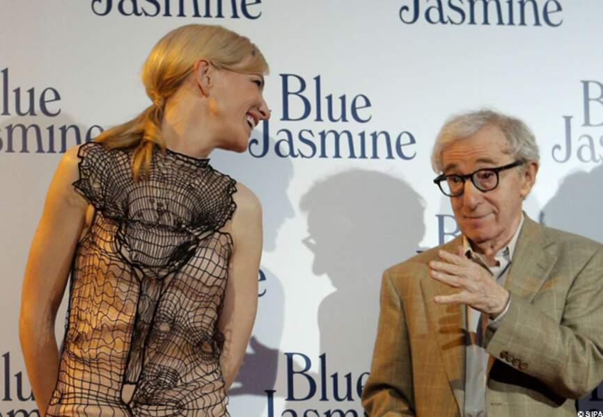 "Woody Allen aime ""moyennement"" la robe de Cat"