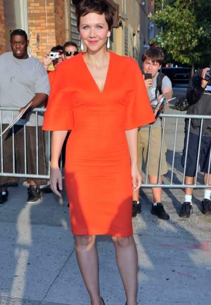 Maggie Gyllenhaal en Vionnet