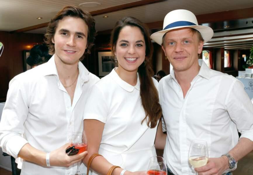 Julien Dereins, Anouchka Delon et Alex Lutz